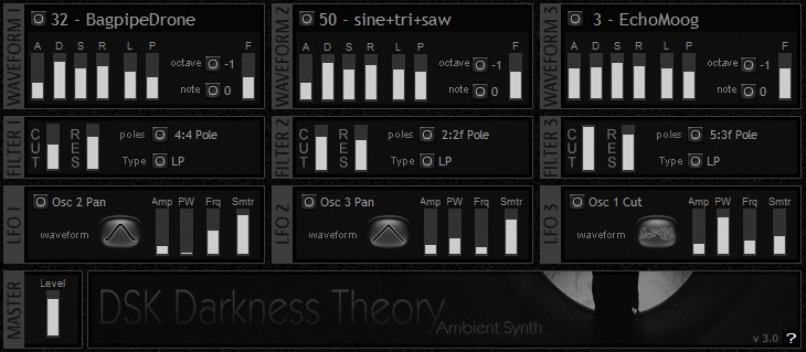 Free Atmosphere VST DSK Darkness Theory 3