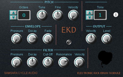 Samsara EKD Electronic Kick Drum