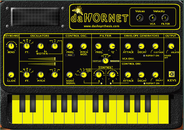 dahornet - EDP Wasp Synth